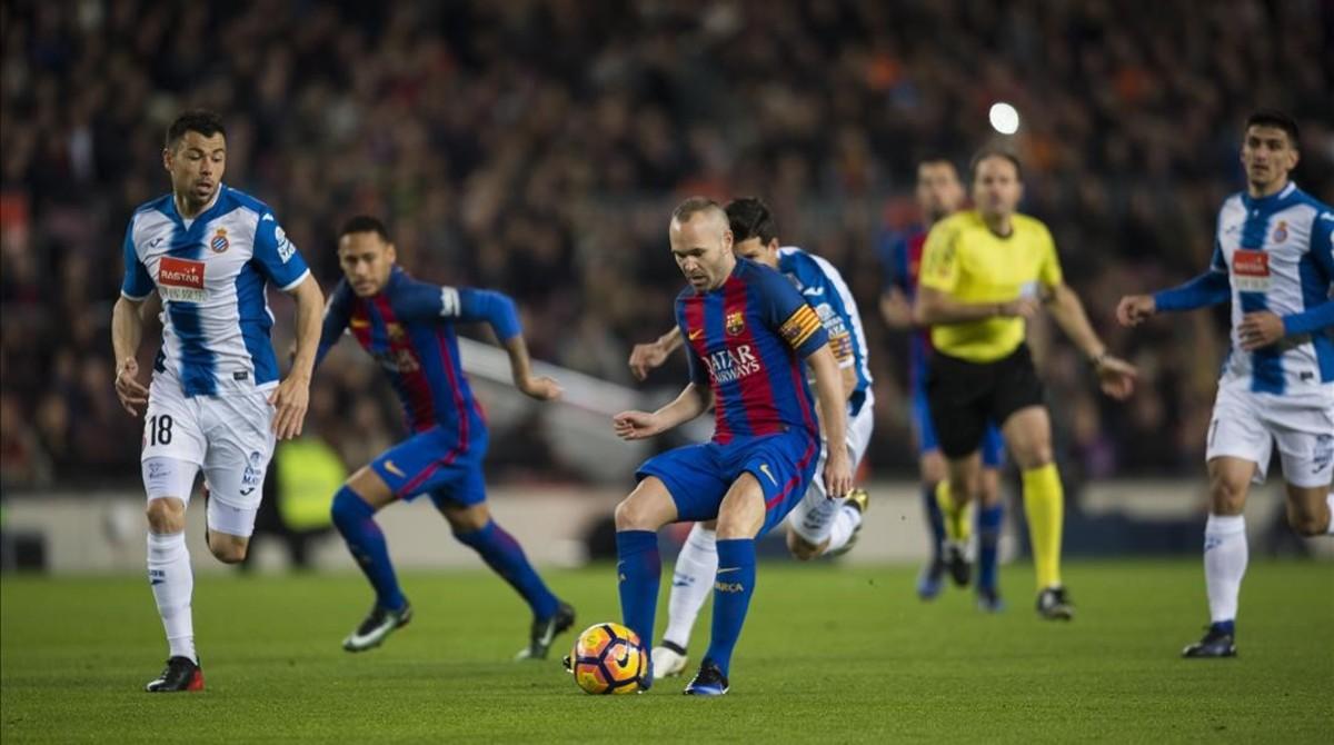 Resultat d'imatges de Espanyol Barça