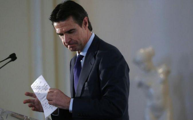 El ministro de Industria, Energía y Turismo en funciones, José...