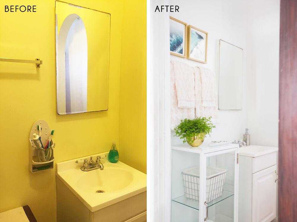 renovar el baño en tres sencillos pasos