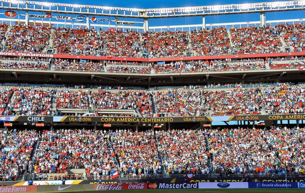 Copa Amrica 2016 Mucho Contraste En Las Gradas De La