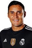 Состав Реал Мадрид 2016- 2017 Кейлор Навес Keylor Navas Вратарь Номер 1