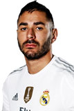 Состав Реал Мадрид 2016-2017 Бензема Benzema Нападающий Номер 9