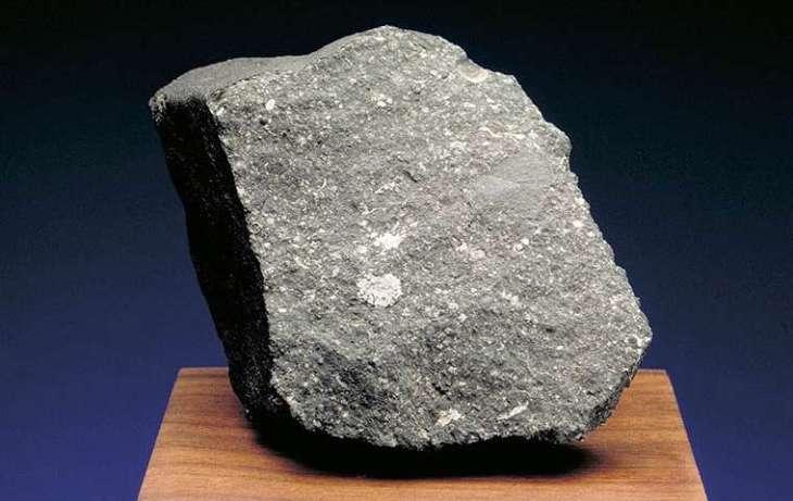 El meteorito más antiguo que el Sol cayó en México en 1969.