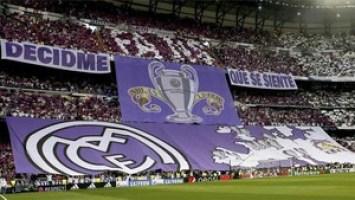 Esta es la polémica pancarta desplegada en el Bernabéu