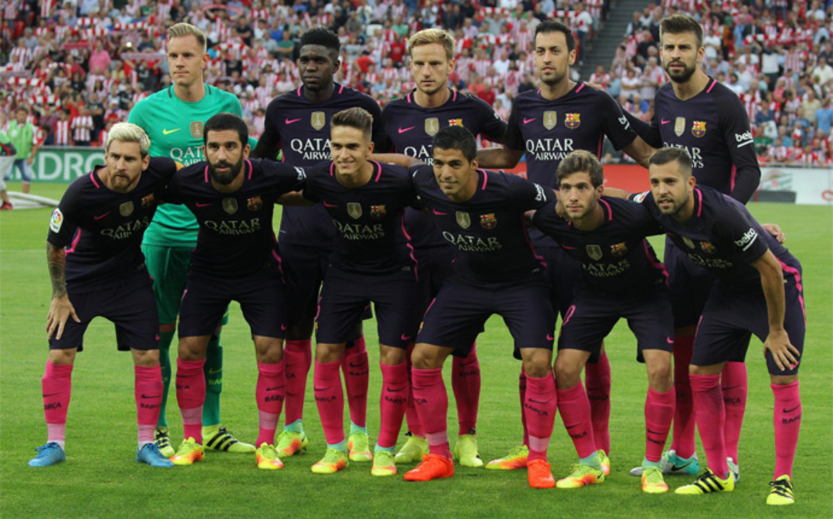 Así queda la plantilla del FC Barcelona 2016 - 2017