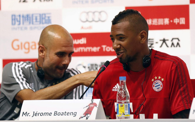 Así 'educó' Guardiola a Boateng