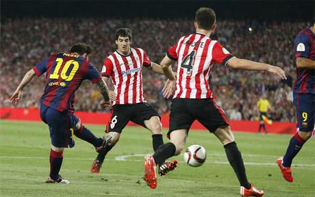 ¿Cómo describir el gol de Messi? (1/4)