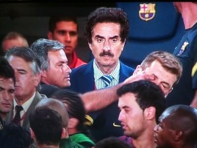 Mourinho metió el dedo en el ojo a Vilanova