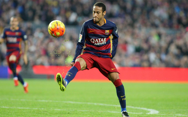 Barca goes to attack to defend Neymar