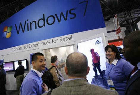 Windows 7 es el más vendido en la historia del sistema operativo.| AP