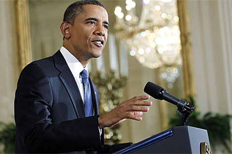 Barack Obama durante una conferencia de prensa sobre economía. | Reuters