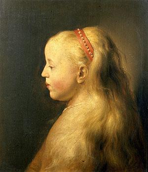 'Retrato de una joven de perfil'. (Foto: EFE)