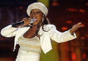 Mary J. Blige, favorita en los Grammy. (Foto: REUTERS)