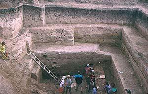 Uno de los yacimientos del r�o Don. (Foto: Science)