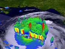 Sistema de predicción climatológica. | Efe