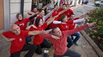 El equipo de Rodrigo de la Calle celebra su estrella con camiseta conmemorativa. | Javi Peñas