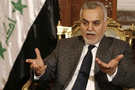 Tareq al Hashemi durante una entrevista en 2008. | Reuters