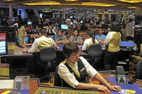 Uno de los casinos de Macao, este fin de semana. | David Jiménez