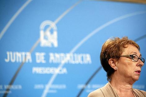 La consejera de Hacienda y Administración Pública, Carmen Martínez Aguayo. | Jesús Morón