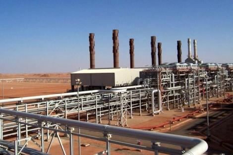 Planta de tratamiento de gas en In Amenas. | Efe