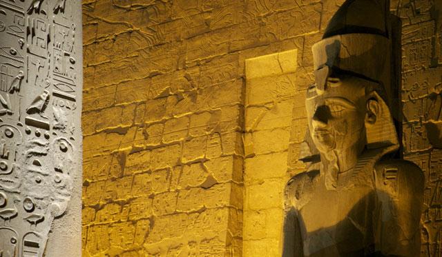 Entrada del templo de Luxor . | Francisco Carrión