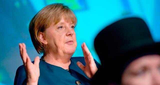 La canciller alemana, Angela Merkel. | Afp