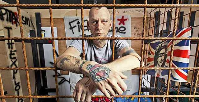 Uno de los integrantes de la polémica exposición en el recinto ferial de Hamburgo Kampnagel. | Bild