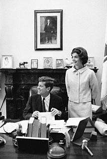 En el despacho de John en el Senado. M.S.