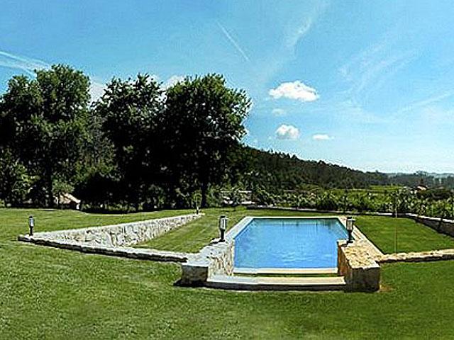 Imagen de la casa rural donde veraneará Rajoy