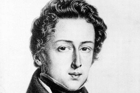 Una imagen de Chopin en su juventud.| Ap