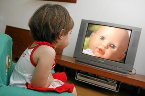 El ocio sedentario es frecuente desde la infancia.   R. Pérez