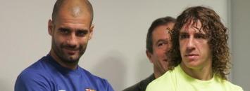 Guardiola y Puyol