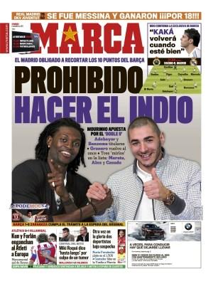 Diario MARCA 6 Marzo 2011