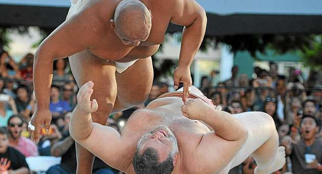 El sumo, el deporte más japonés, sin campeones japoneses