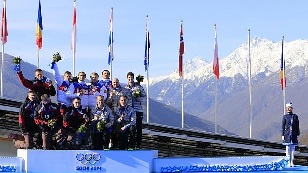 Rusia, Letonia y EE.UU. copan el podio de bobsleigh a 4