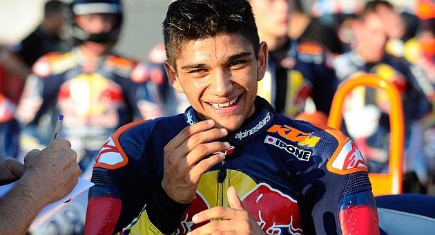 Jorge Martín, campeón de la Red Bull Rookies Cup