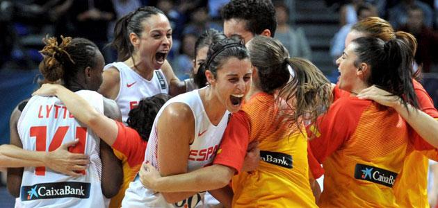 Alba Torrens se convirtió en la mejor jugadora del partido. FOTO: AFP