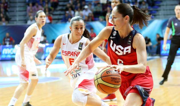 España se divierte en el oro Mundial de Estados Unidos