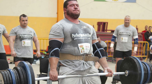 El atleta más fuerte de España
