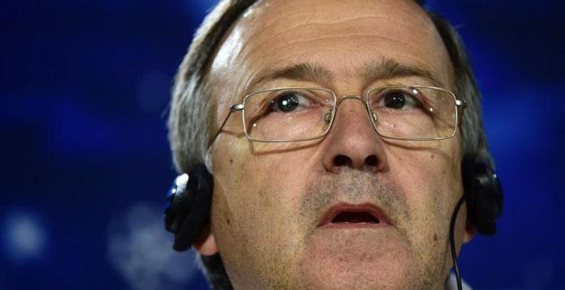 Georgi Dermendzhiev, en rueda de prensa / Foto: AFP