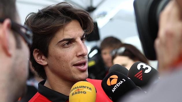 Merhi: No he probado el coche, ni simulador, ni conozco el circuito