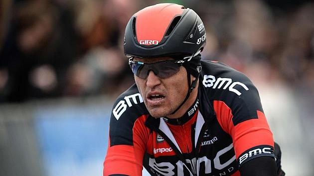 Greg Van Avermaet en una reciente carrera. Foto: AFP