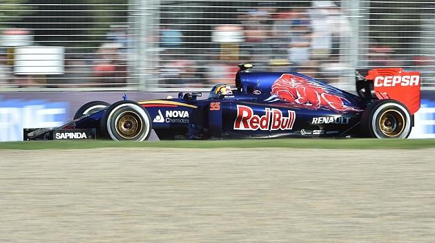 Carlos Sainz: Me siento muy a gusto en el coche, ha sido un primer día decente