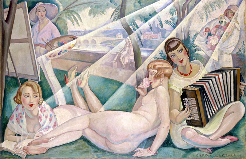 Gerda Wegener, A Summer Day, 1927.