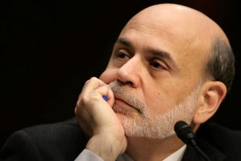 Ben Bernanke en su comparecencia ante el Congreso de EEUU. | AFP