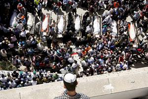 Funeral masivo por las v�ctimas del atentado. (Foto: EFE)