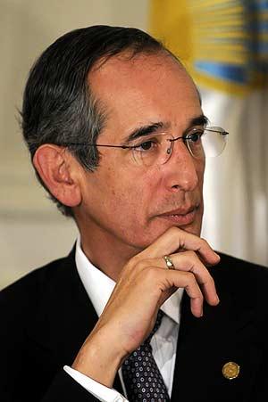 Álvaro Colom. (Foto: EFE)