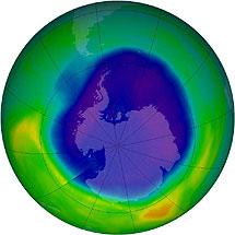 Diagnóstico de la capa de ozono. | Efe