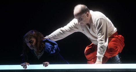 Escena de la ópera 'Rigoletto' en el Teatro Real | Foto: Javier del Real