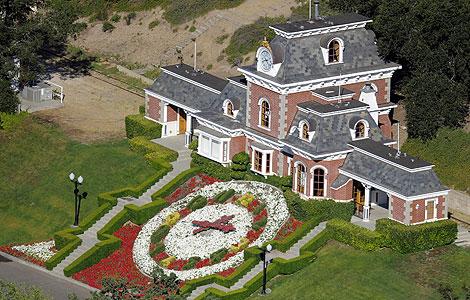 Una zona del rancho de 'Neverland', en California. | AP